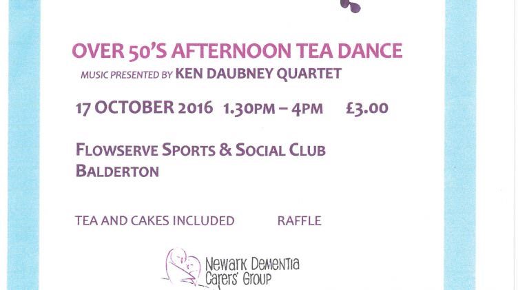 Over 50's Afternoon Tea Dance
