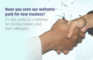 Charity Commission welcome pack for new charity trustees