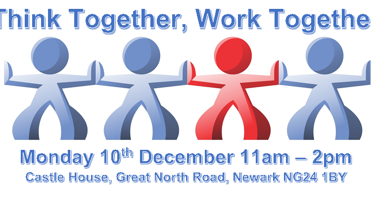 Think Together, Work Together – Mon 10th Dec