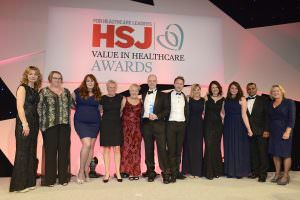 HSJ Value in Healthcare Award presentation to SFH May 2017